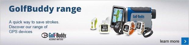 GolfBuddy's GPS Range for 2016